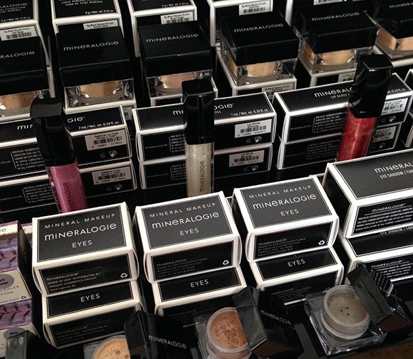 Mineral makeup från Mineralogie
